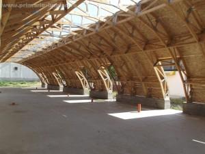 Piata agroalimentara aflata in constructie